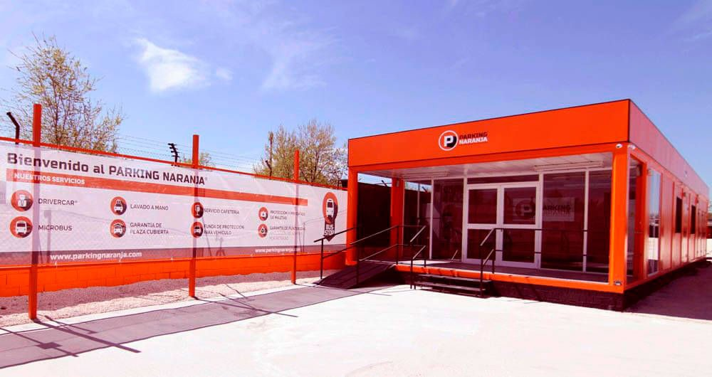 Aparca a Parking Naranja-Madrid