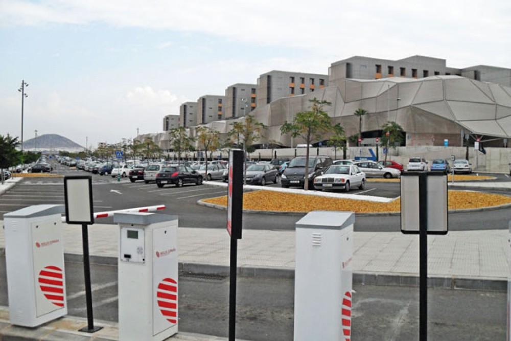 Aparcar en IC Hospital Santa Lucía-Murcia