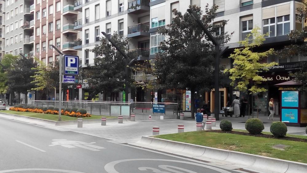 Aparcar en Parking Central Gran Vía-La Rioja