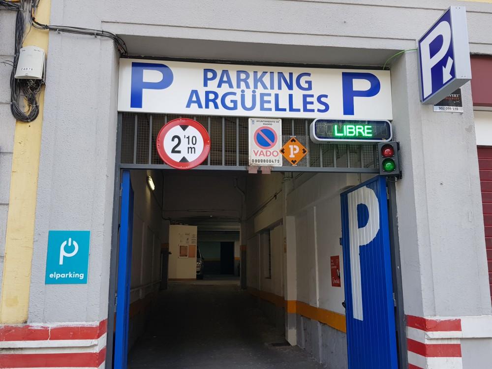 Aparcar en Parking Argüelles-Madrid
