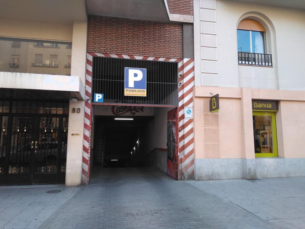 Aparcar en Parking Narvaez 80-Madrid