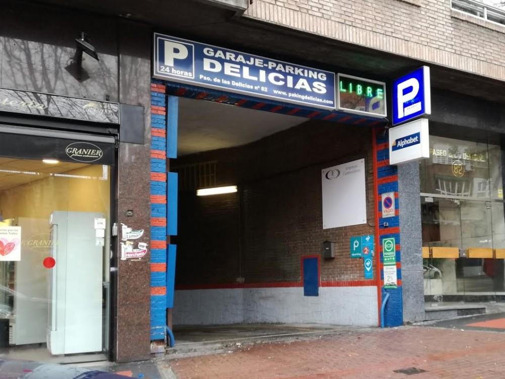 Aparcar en Parking Delicias-Madrid