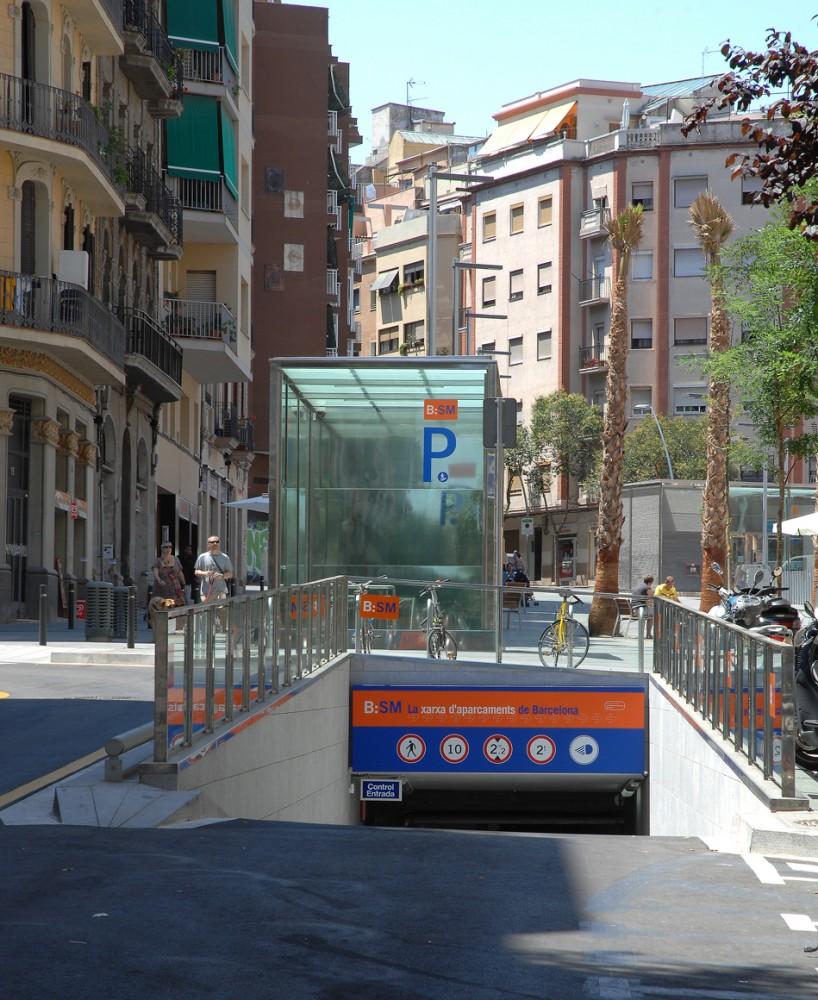 BSM Parking Plaça Navas
