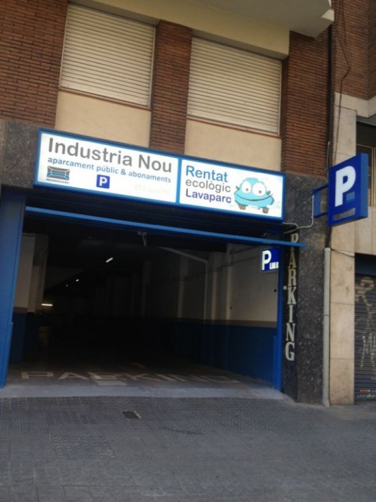 Aparcar en Parking Industria Nou-Barcelona
