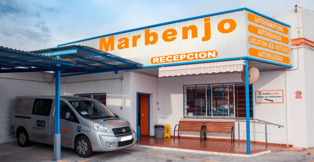 Aparca a Marbenjo Parking Descubierto - Outdoor-Málaga
