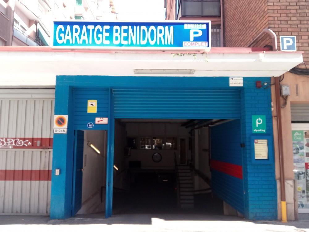 Aparca a Garaje Benidorm-Barcelona