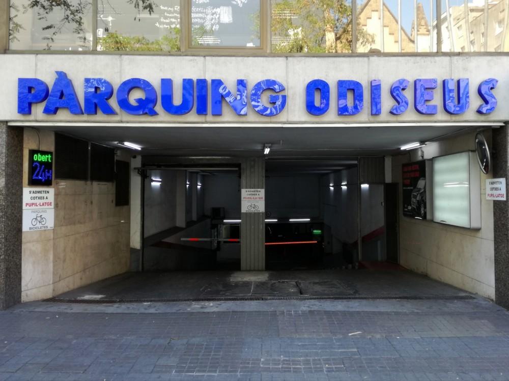 Aparcar en Parking Odiseus-Barcelona