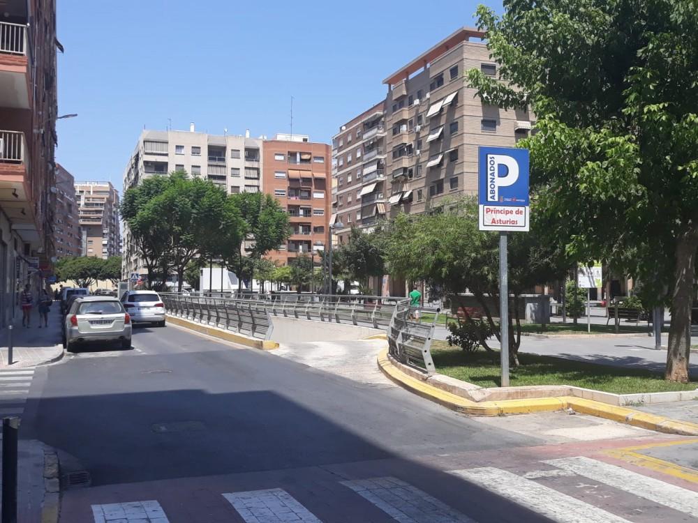 Parking Plaza Principe de Asturias Mislata