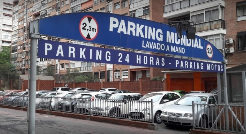 Aparca a Garaje Mundial-Madrid