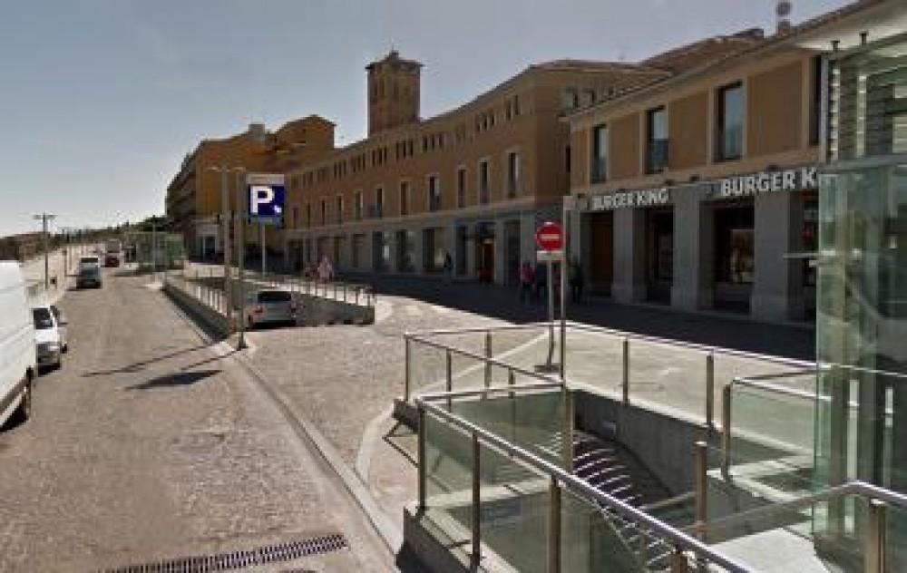 Park in IC Acueducto Oriental-Segovia