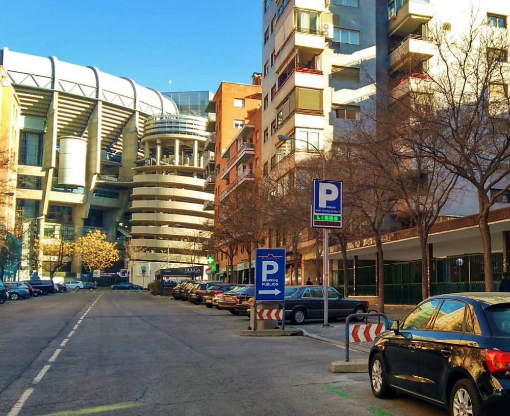 Parking Bernabeu Silos