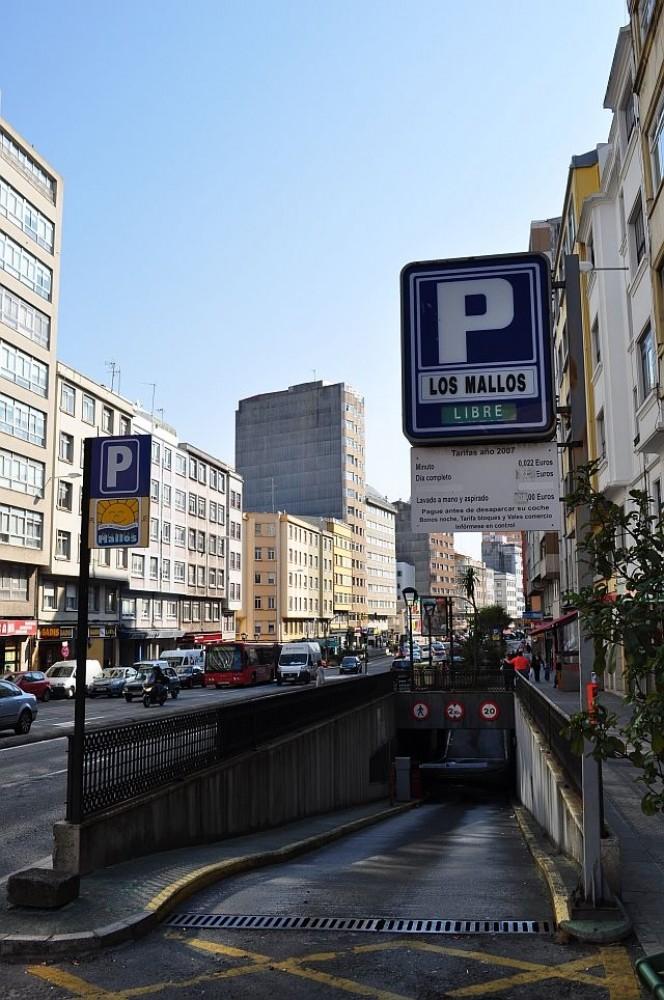 Aparcar en Aparcamientos los Mallos-A Coruña