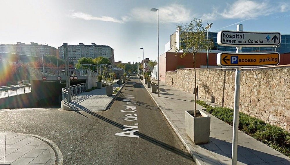 Parking Reyes Católicos-Zamora(e)n aparkatu
