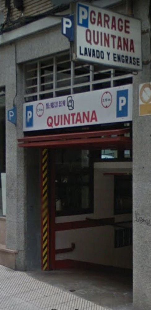 Garaje Quintana-Asturias(e)n aparkatu