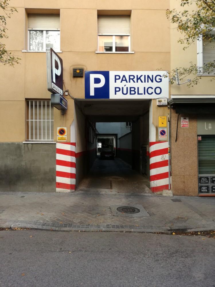Aparca a Garaje Magicoca-Madrid
