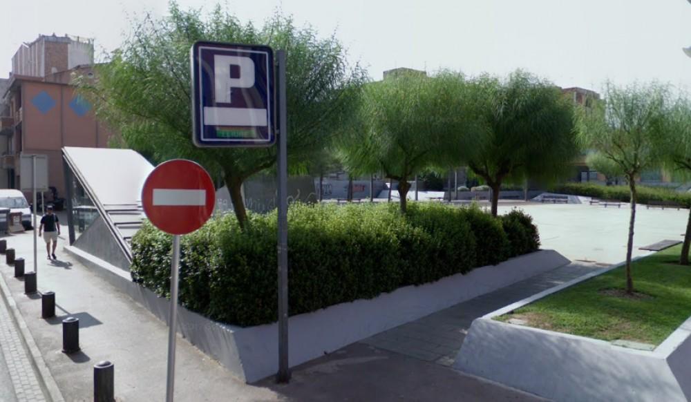 La pista de Rubí-Barcelona(e)n aparkatu
