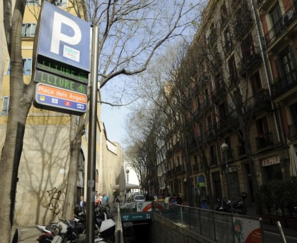 Park in Rambla de Catalunya, 2-16, 08007 Barcelona-Barcelona