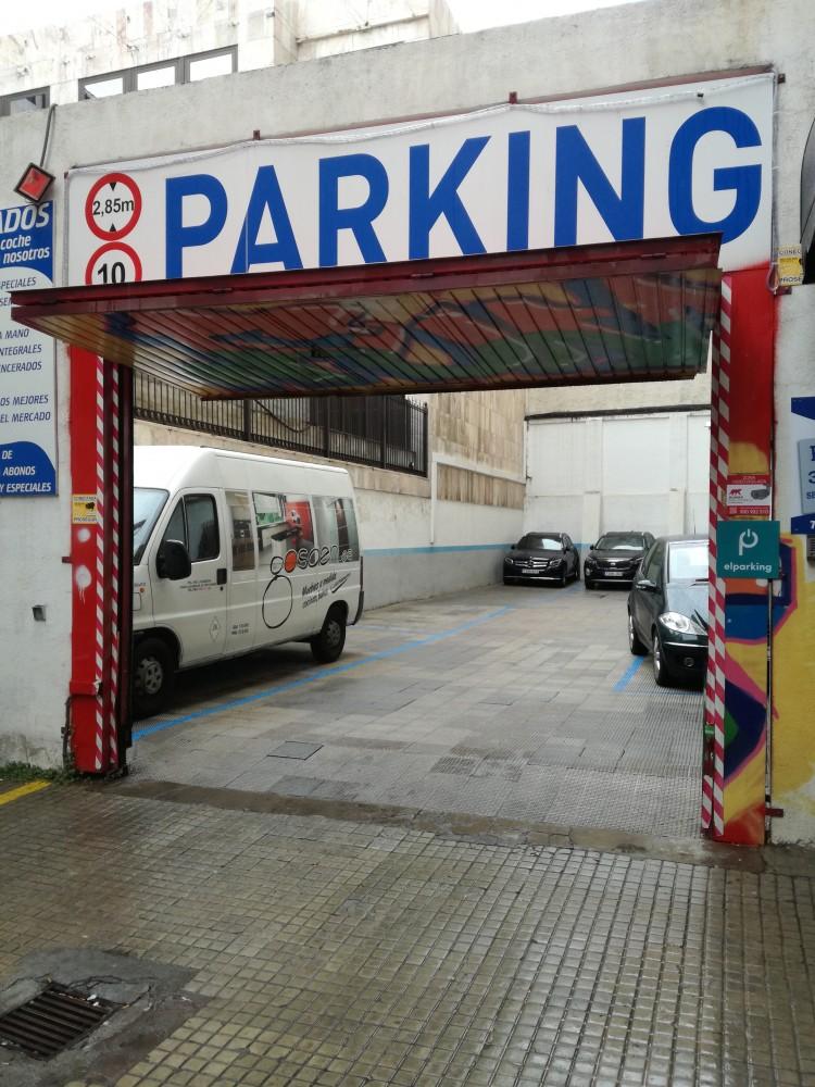 Aparca a Parking General Pardiñas 73-Madrid