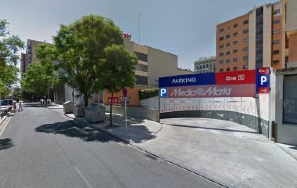 Aparcar en Parking del Mirador de Santa Justa -Sevilla