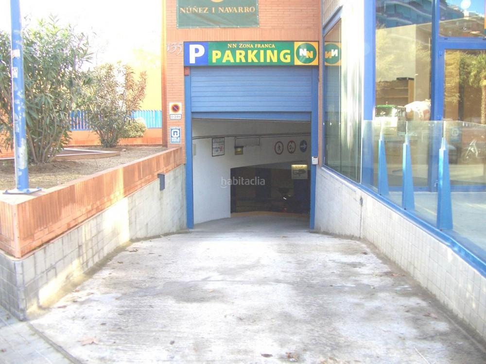 Park in NN Zona Franca-Barcelona