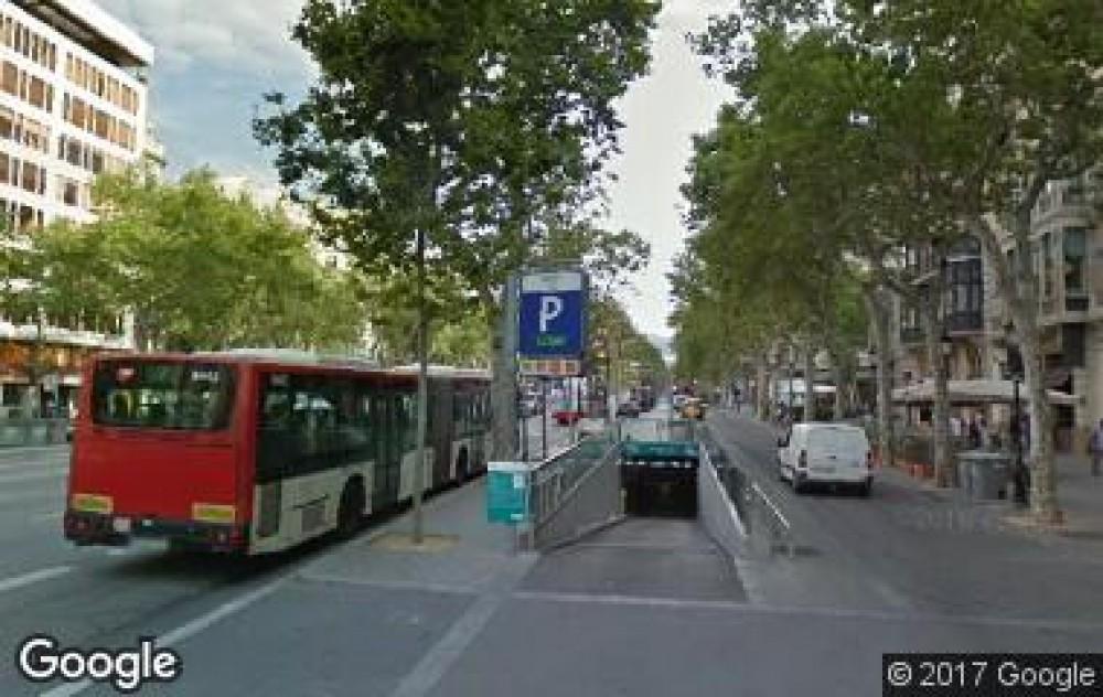 Aparcar en Gràcia III - Paseo de Gràcia (Aragó - Rosselló)-Barcelona
