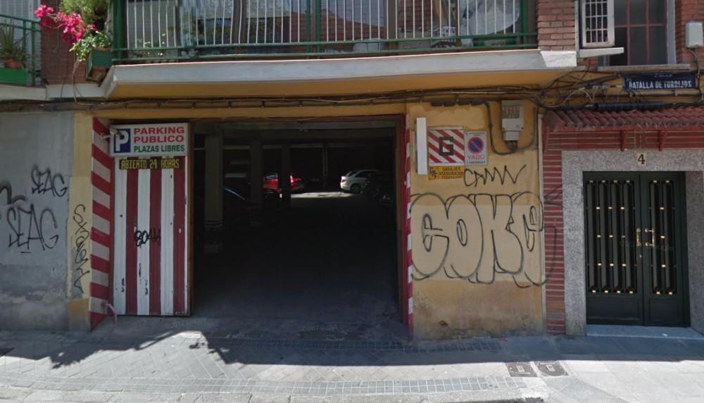 Parking La Madrileña - Furgonetas