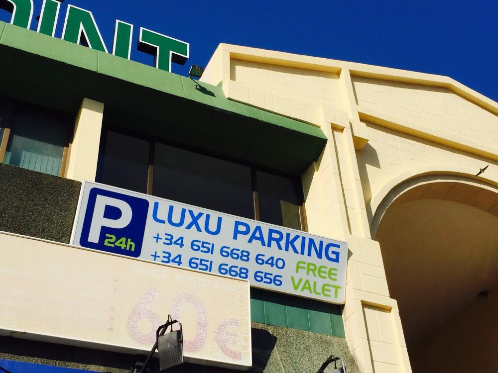 Aparcar en Luxu Parking - Puerto-Málaga