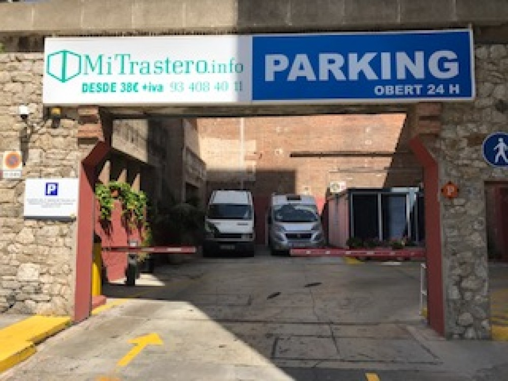Parking Freser-Barcelona(e)n aparkatu