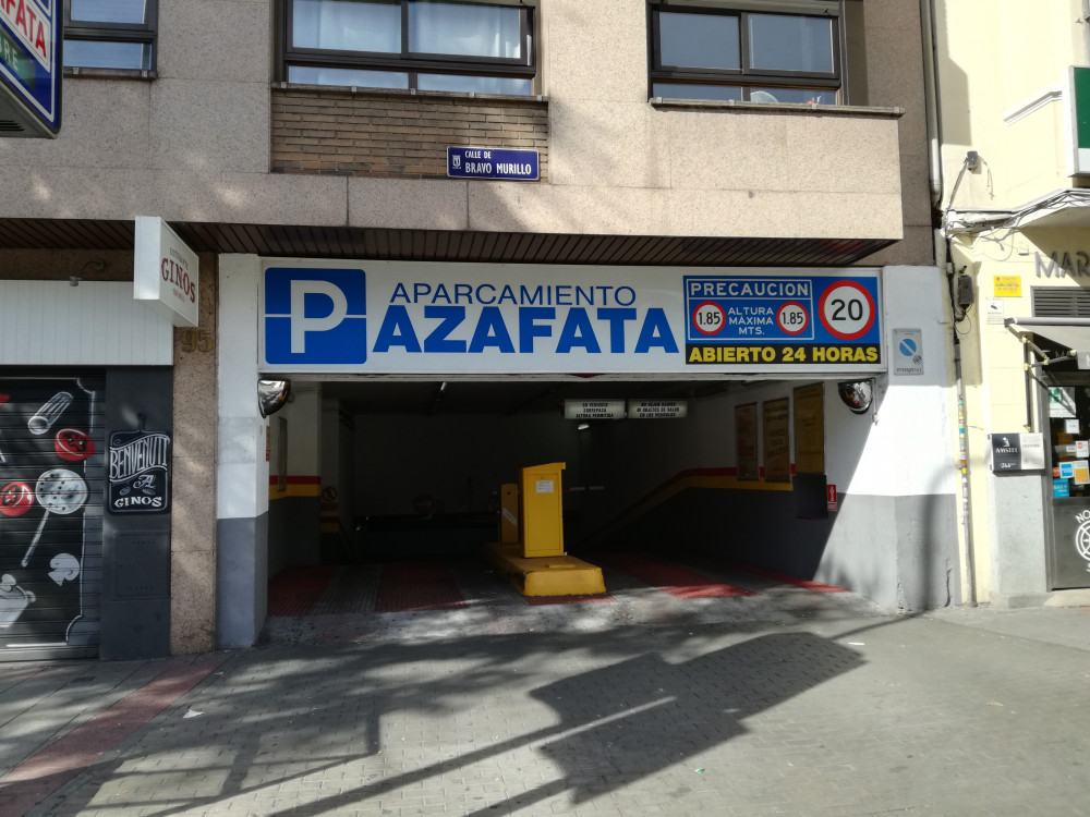 Parking Azafata