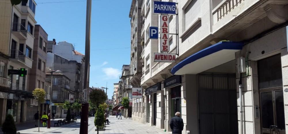 Garaje Avenida-Pontevedra(e)n aparkatu