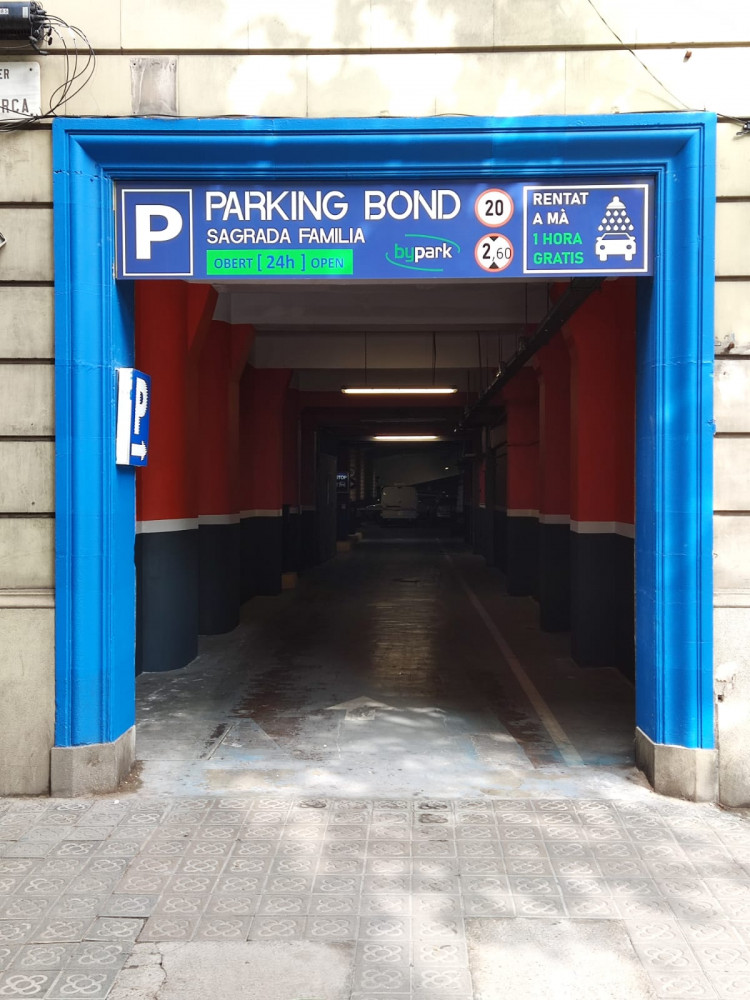 Parking Bond Krup Sagrada Familia