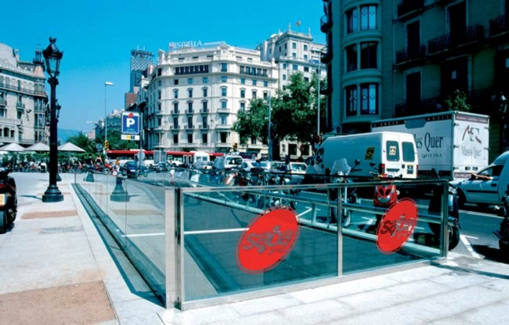 Aparcar en Rambla Catalunya, s/n (Gran Via-Rda. Universitat)-Barcelona