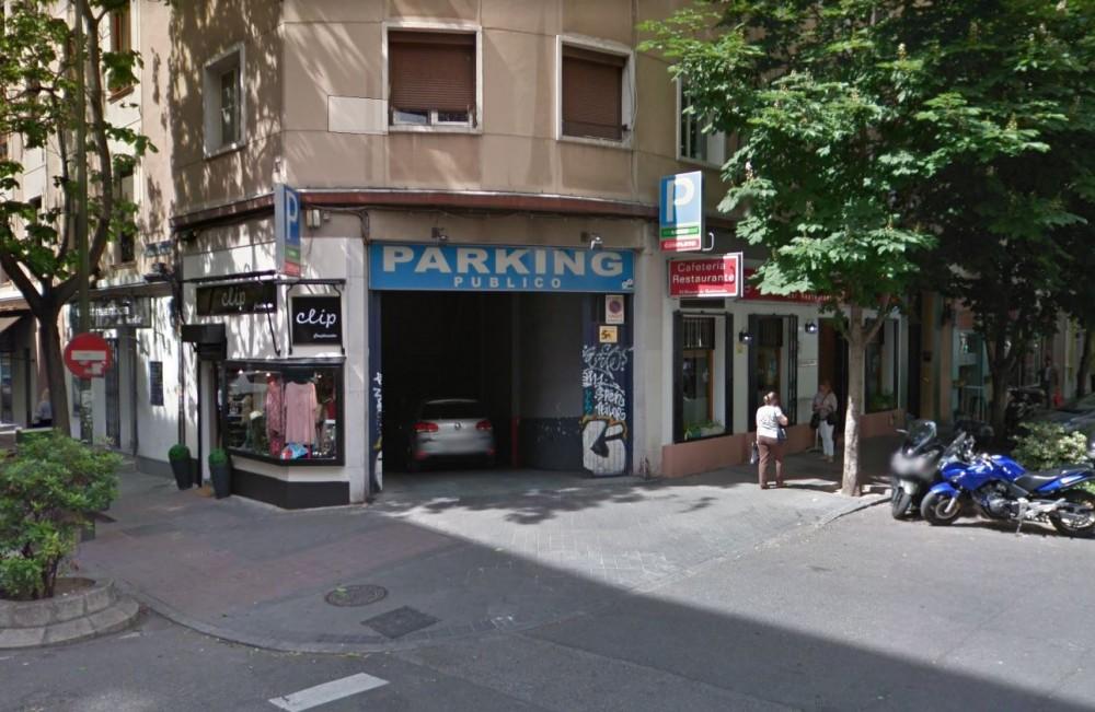 Aparcar en Garaje Ramos-Madrid