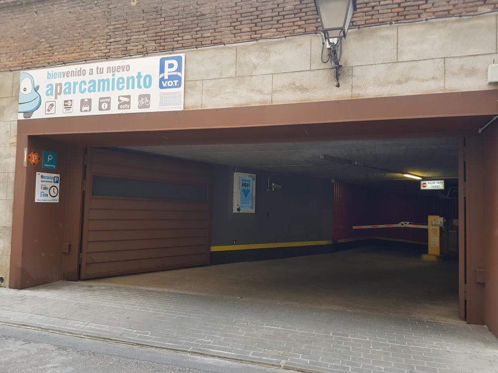 Aparcar en Parking Vot-San Francisco el grande-Madrid