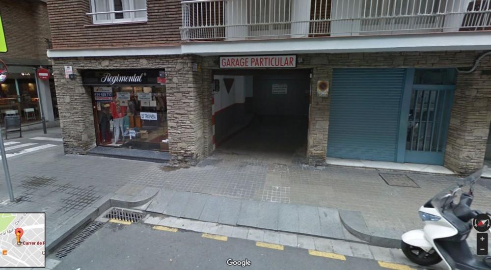 Aparca a ElParking Calle Pádua 95-Barcelona