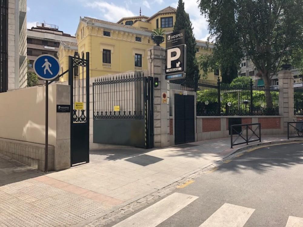 Parking Hospes Palacio de los Patos