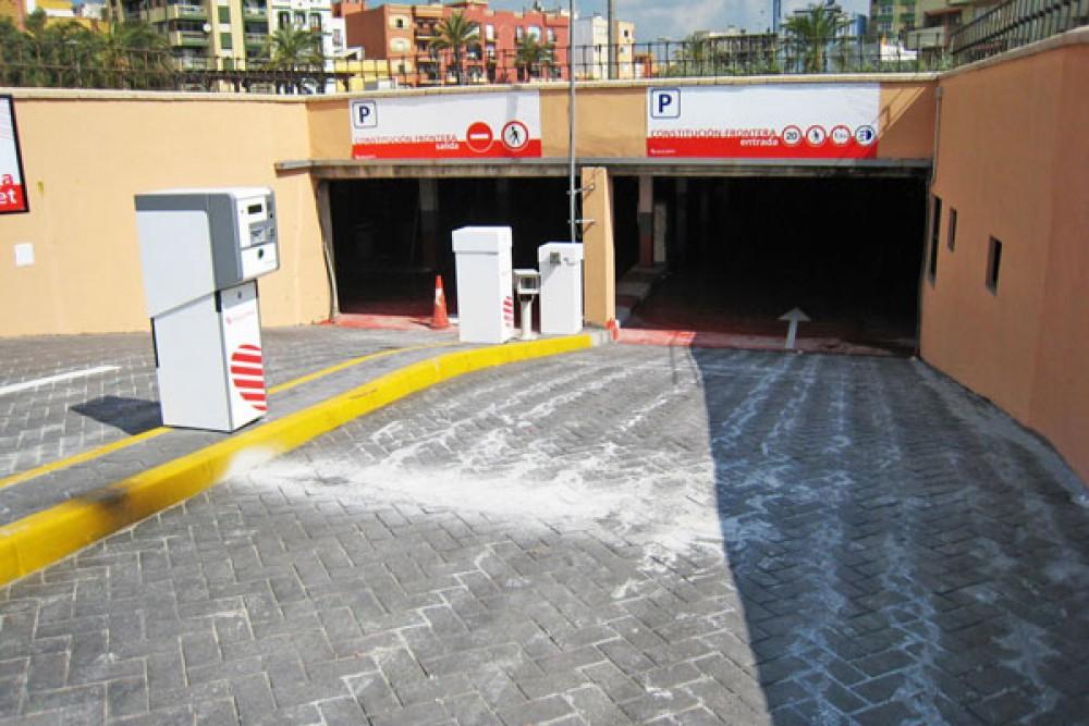 Aparcar en IC Centro La linea de la concepción-Cádiz