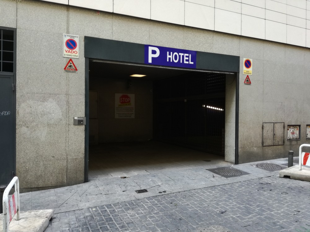 Aparca a Parking Homely Atocha-Madrid