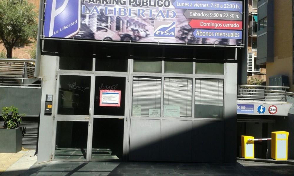 Aparca a Plaza Libertad Alcorcón-Madrid
