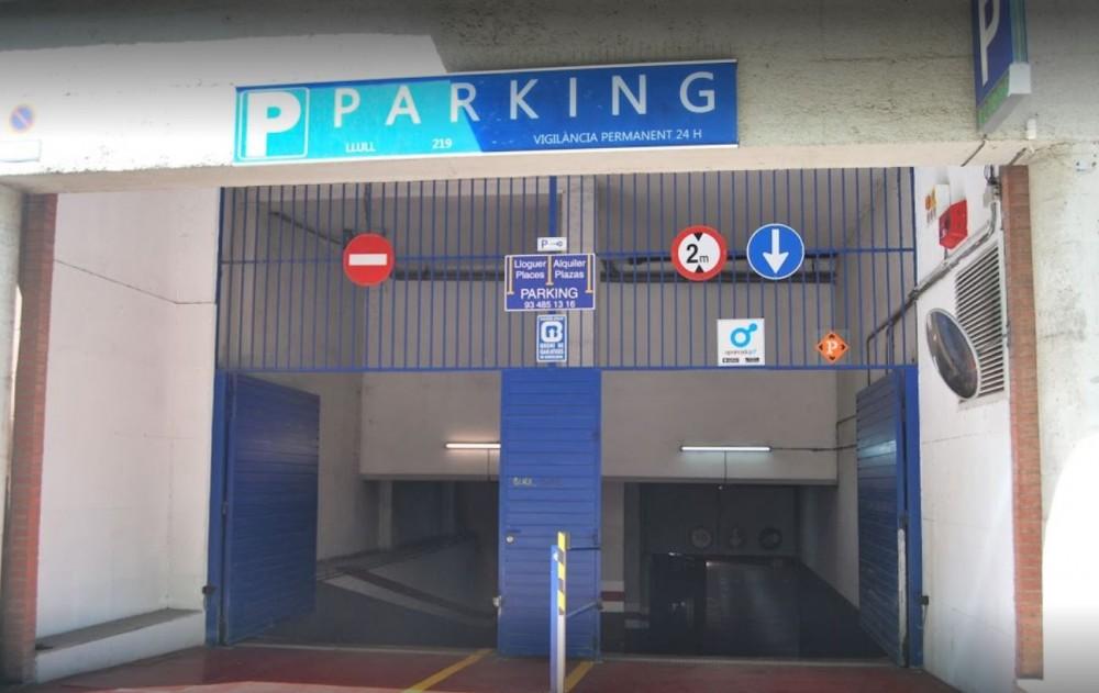Parking Vall King - Llull 219