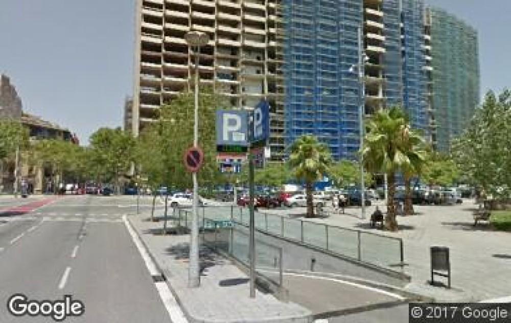 Park in BAMSA València-Calàbria ( Carrer de València, 77, 08015)-Barcelona