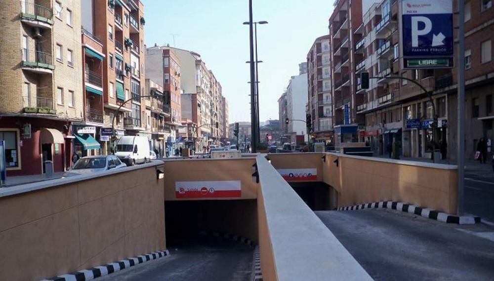 Aparcar en IC Avenida Pío XII-Toledo