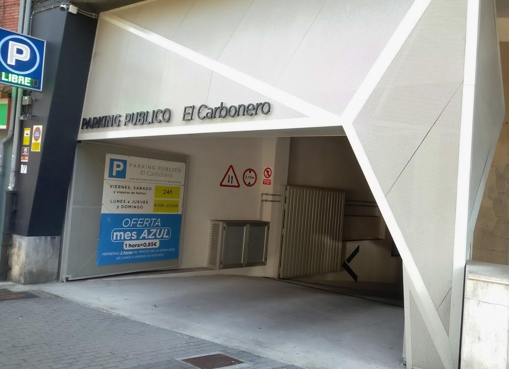 Aparcar en Parking el Carbonero-Asturias