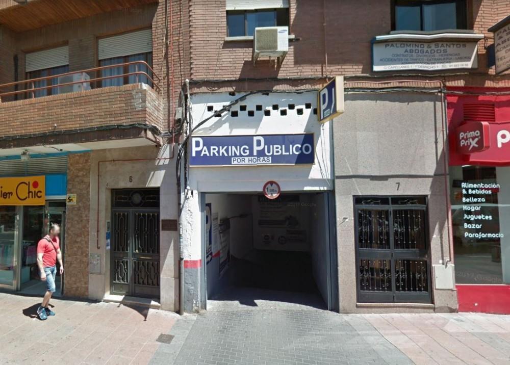 Parking General Palacio