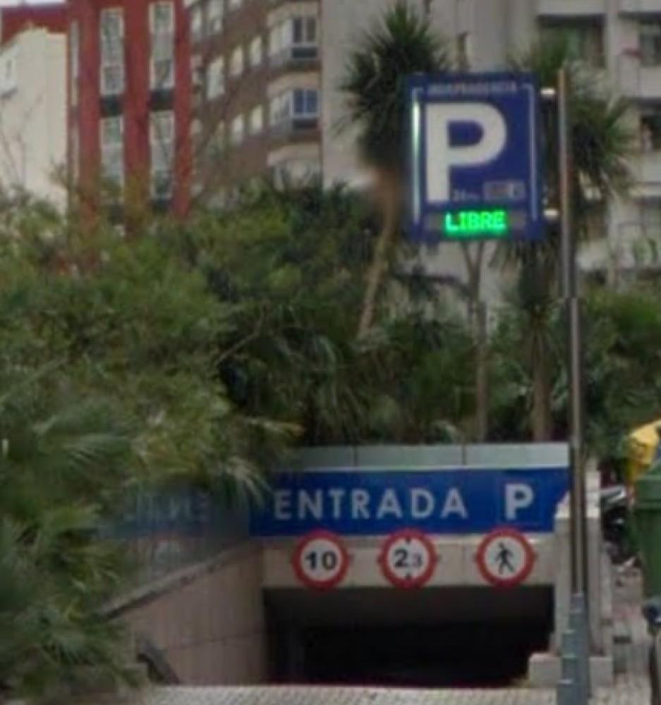 Aparcar en Plaza de la Indipendencia, s/n-Pontevedra