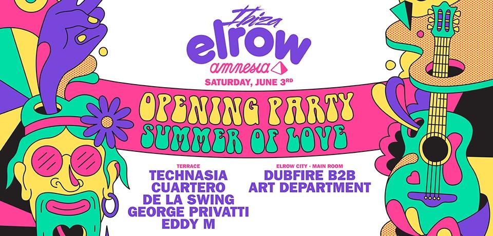 elrow Ibiza - OPENING