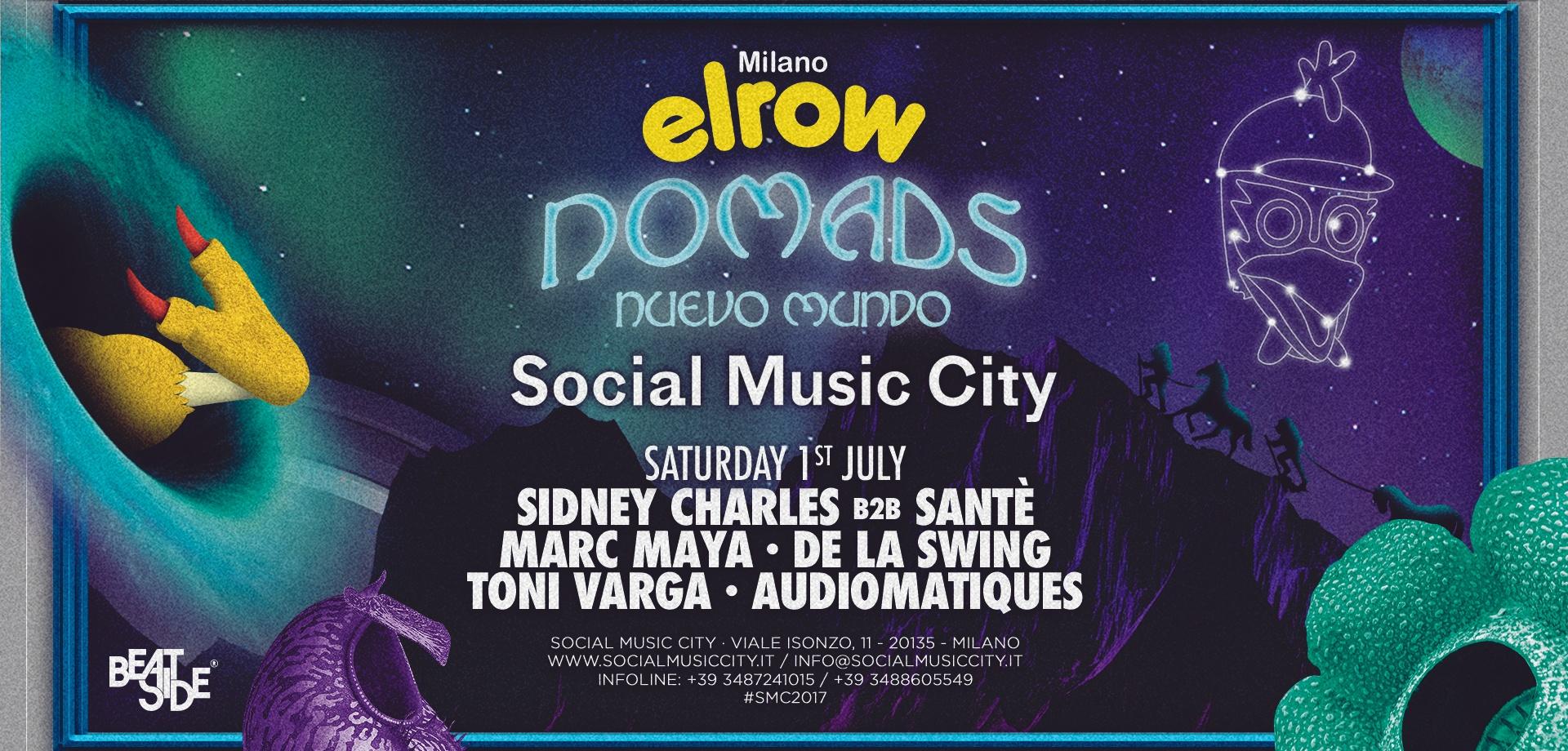 Social music city - nomads, new world