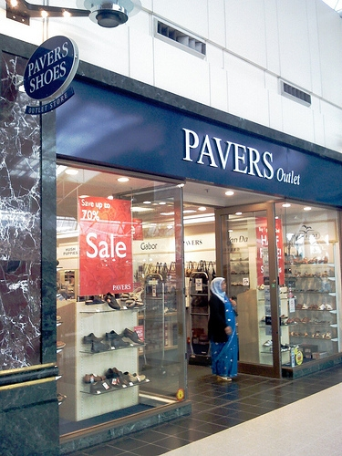 Pavers rescue Equity Shoes