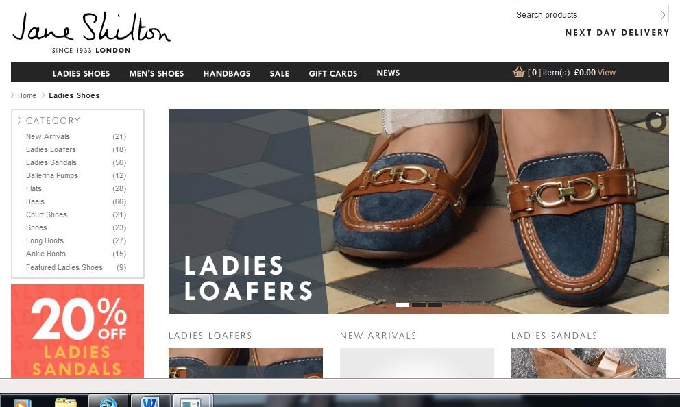 Jane Shilton in footwear licensing talks