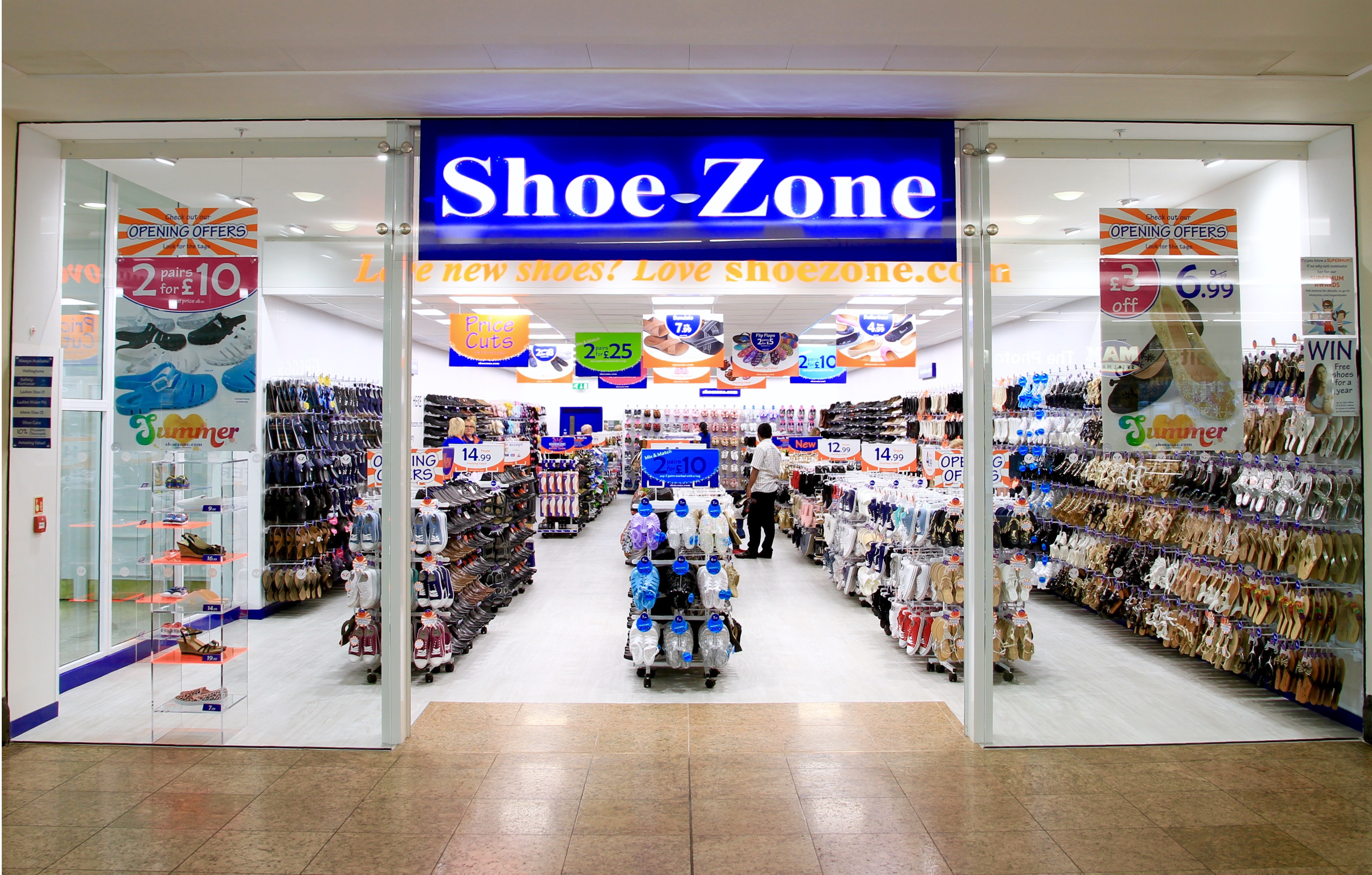 shoe shops meadowhall centre